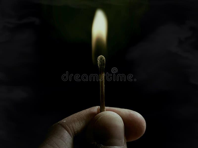 Flamma av hopp arkivfoto