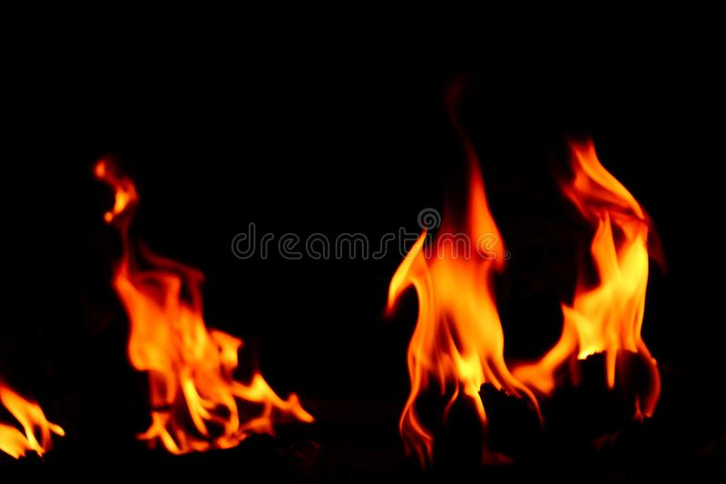 Flamma för brand fotografering för bildbyråer