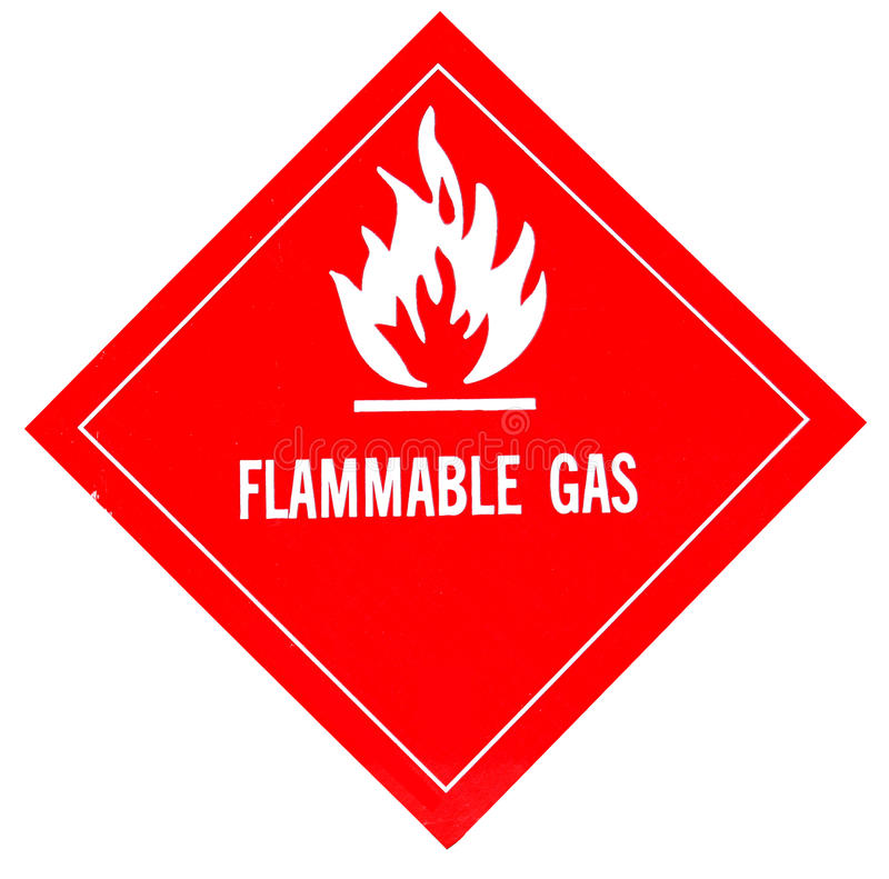 Download Flammable gas stock photo. Illustration of regulation - 26046268