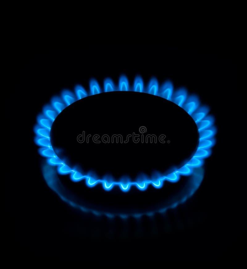 flammagas royaltyfri bild
