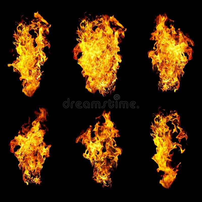 flammaspråk sex arkivbilder