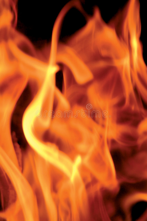 Flamme photo libre de droits