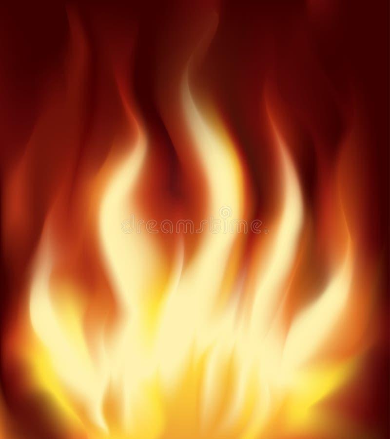 Flamme vektor abbildung