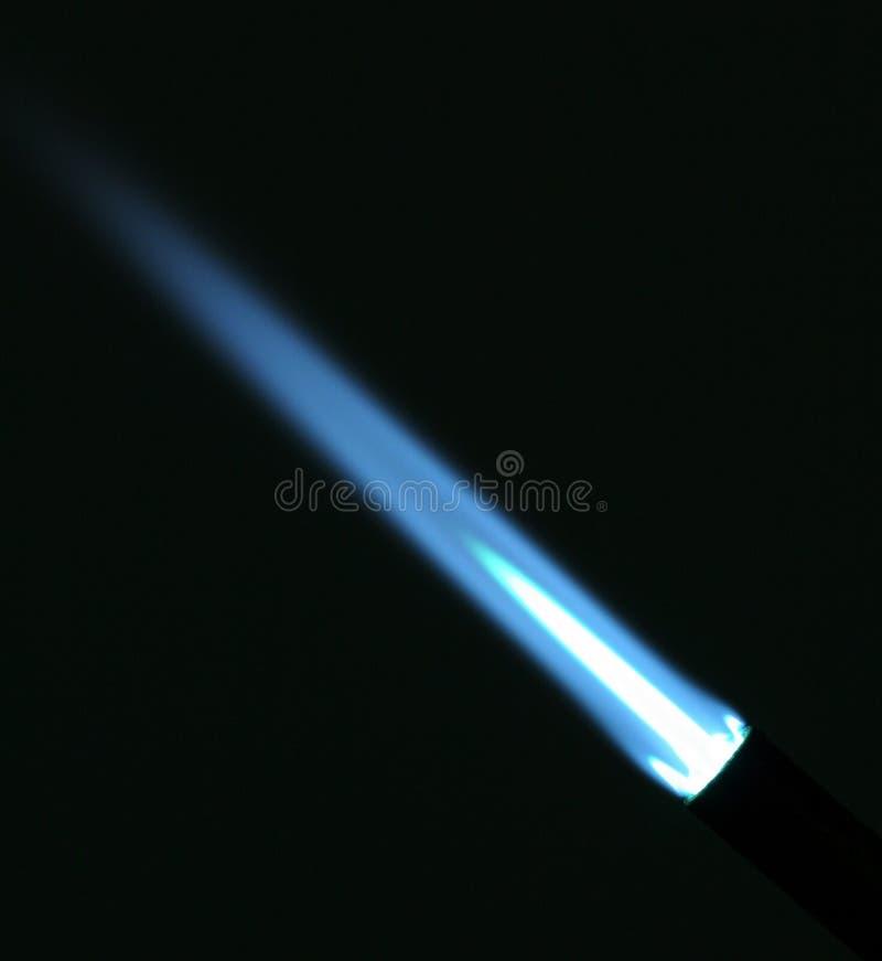 Flamme bleue photo libre de droits