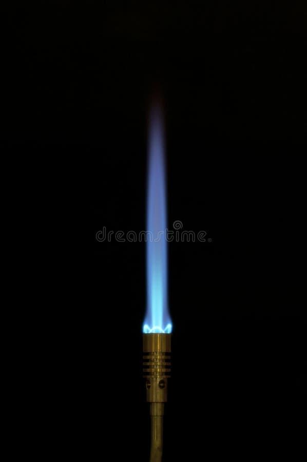 Flamme bleue photos stock