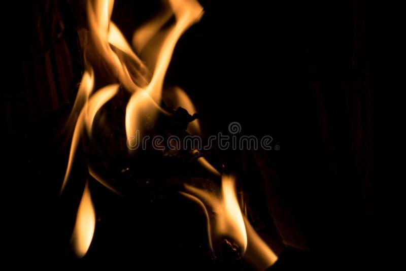 Flamme d'incendie images libres de droits