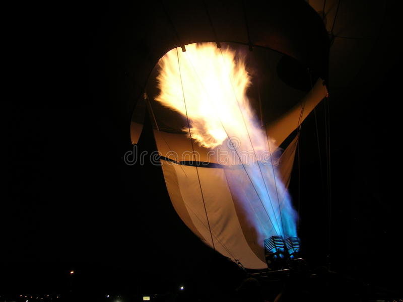 Flamme de ballon images libres de droits