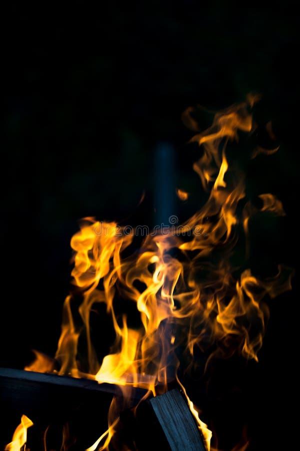 Download Flamme Lumineuse De Feu Defocused Image stock - Image du brûlure, dangereux: 77150751