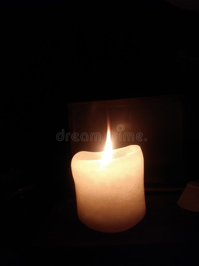 Flamme simple photo stock