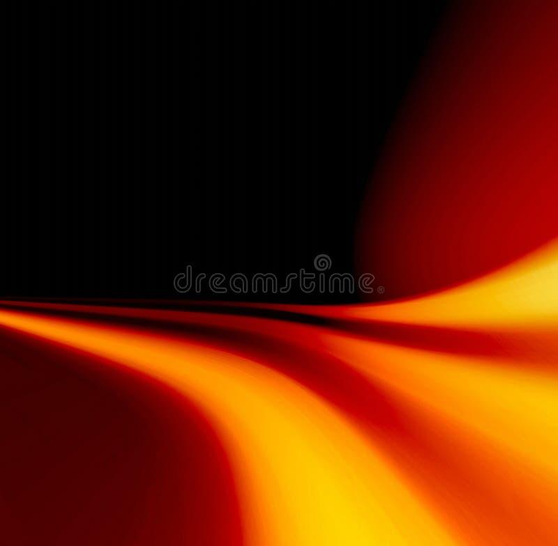 Flammeauszug stock abbildung