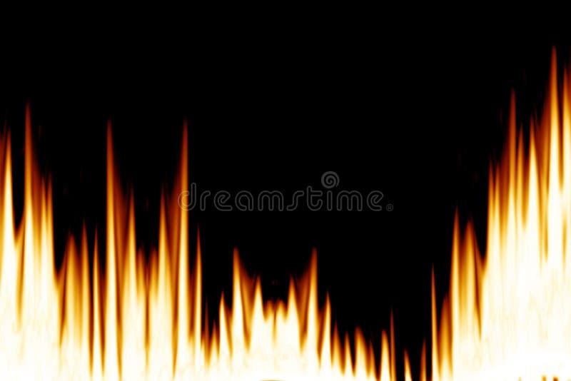 Flammen vektor abbildung