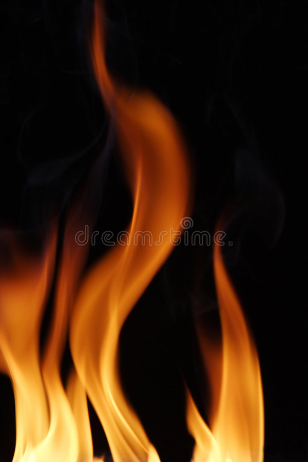 Flammen stockfoto