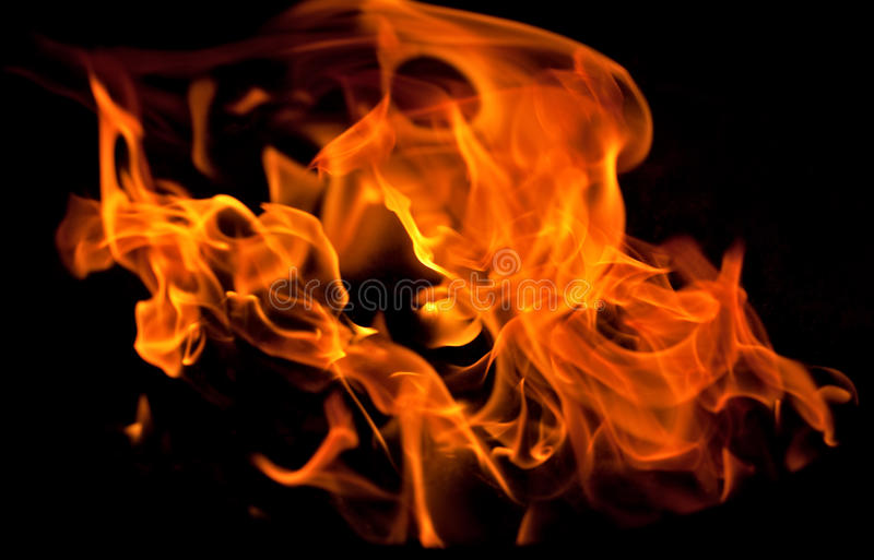 Flammen stockfotos