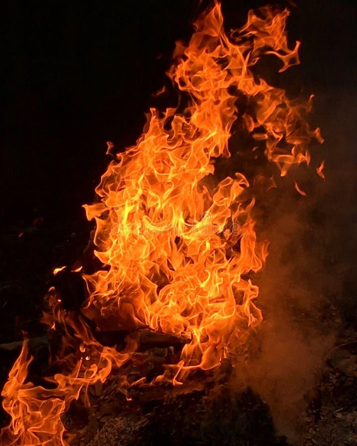 Flammen lizenzfreies stockbild
