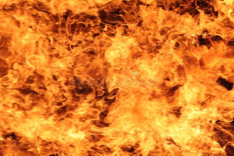 Flammen der Neigung lizenzfreie stockbilder