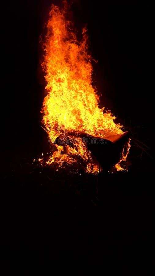 Flammende leżanka obrazy royalty free