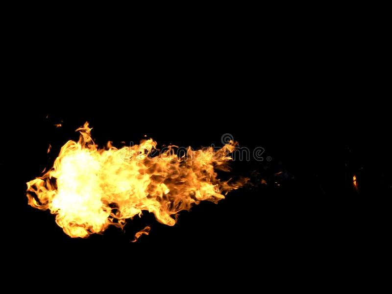 Flammenwerfer 2 lizenzfreie stockfotografie