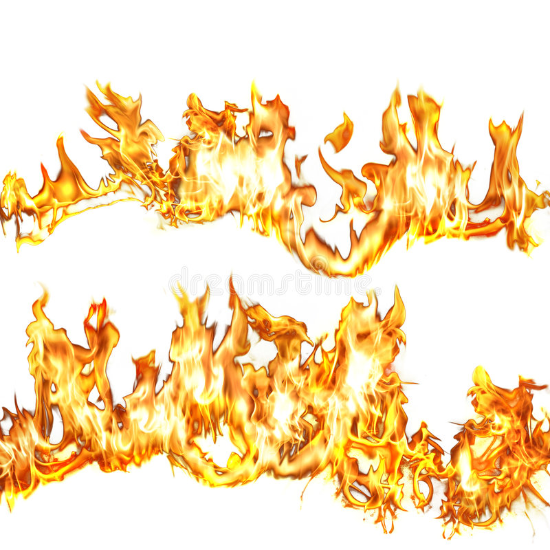 Flammes 1 illustration libre de droits