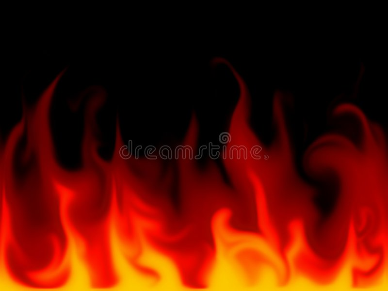 Flammes illustration stock