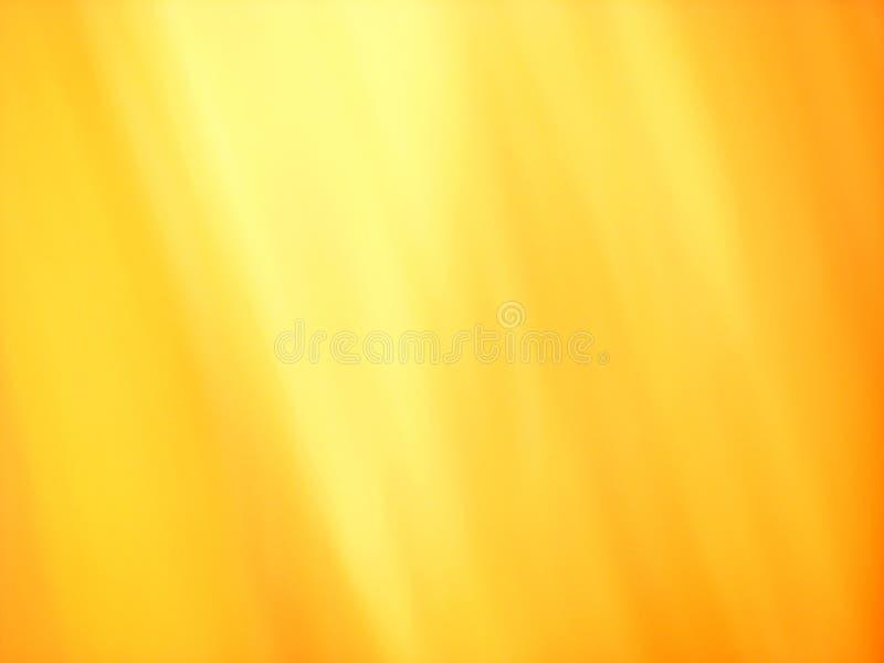 Flammes d'or photo libre de droits