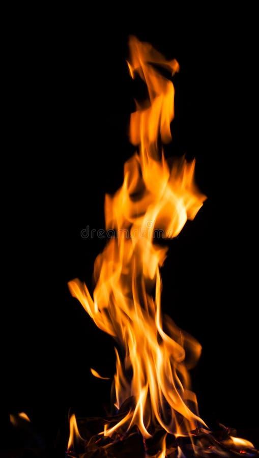 Flammes d'incendie photographie stock