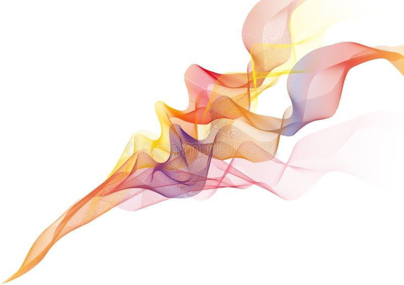 Flammes de vecteur illustration de vecteur