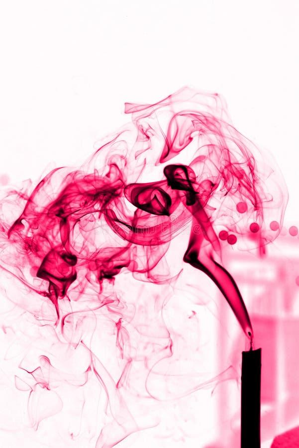 Flammes roses photographie stock libre de droits