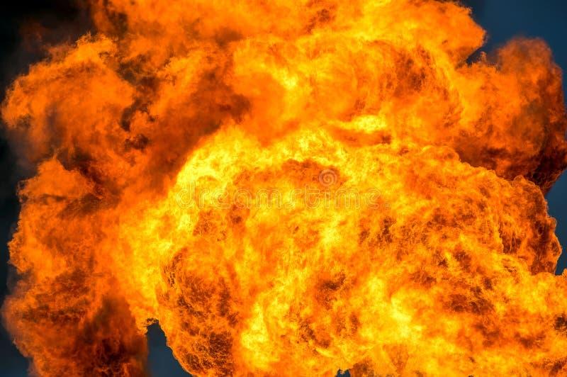 Flammor av brand royaltyfria bilder