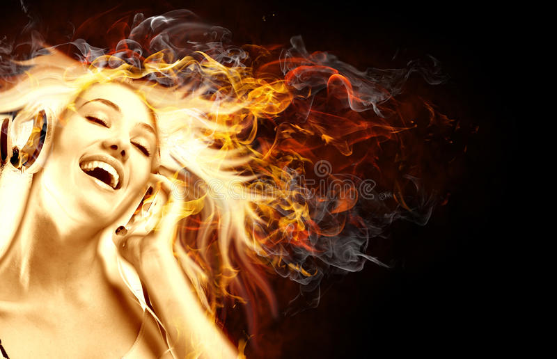 Download Flamy symbol stock image. Image of smile, listening, entertainment - 11661745