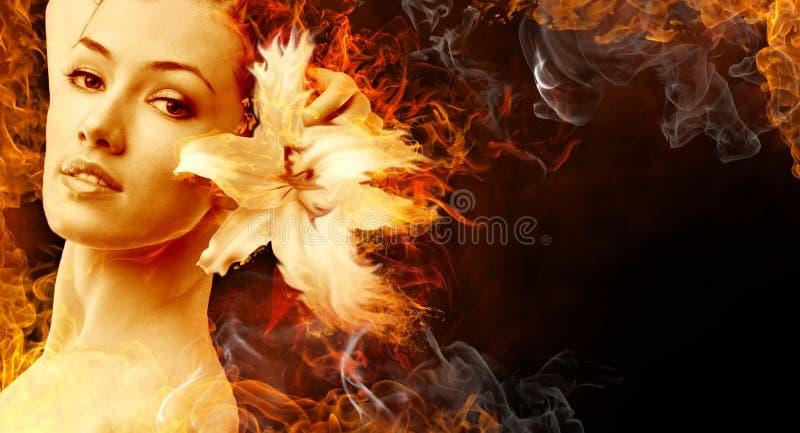 flamy symbol royaltyfria foton