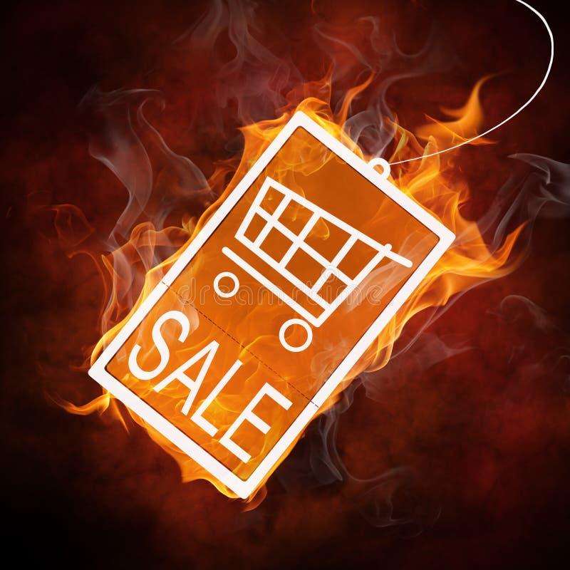 Download Flamy symbol stock photo. Image of consumerism, label - 13071272
