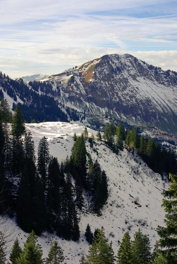 Flanc de montagne de Milou image stock