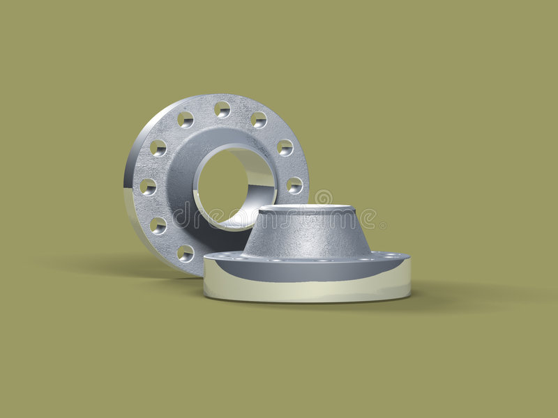 Download Flange stock illustration. Illustration of wrench, product - 337560