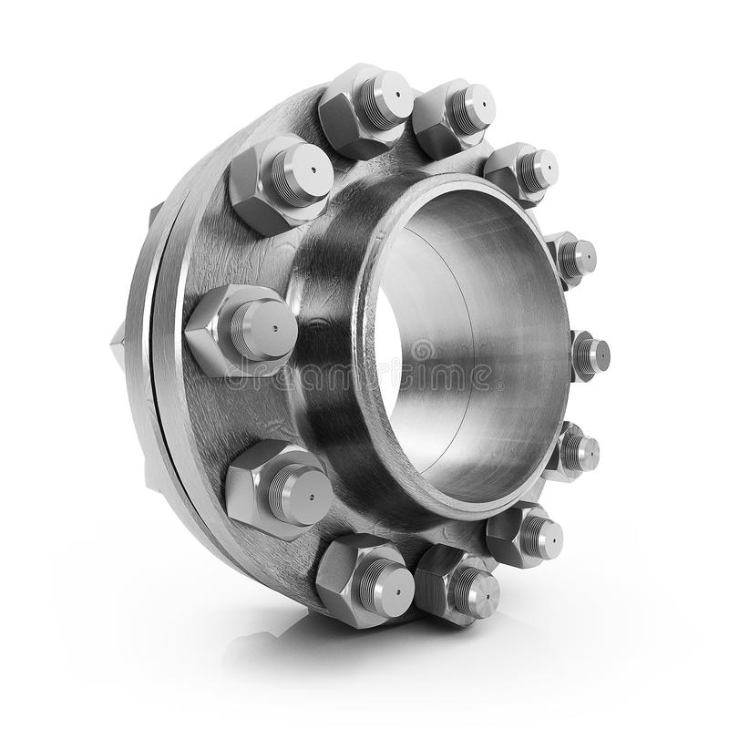 Download Flanges Royalty Free Stock Image - Image: 18687176