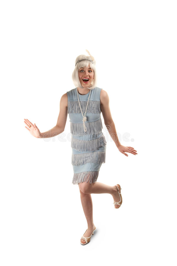 Flapper royalty free stock photography