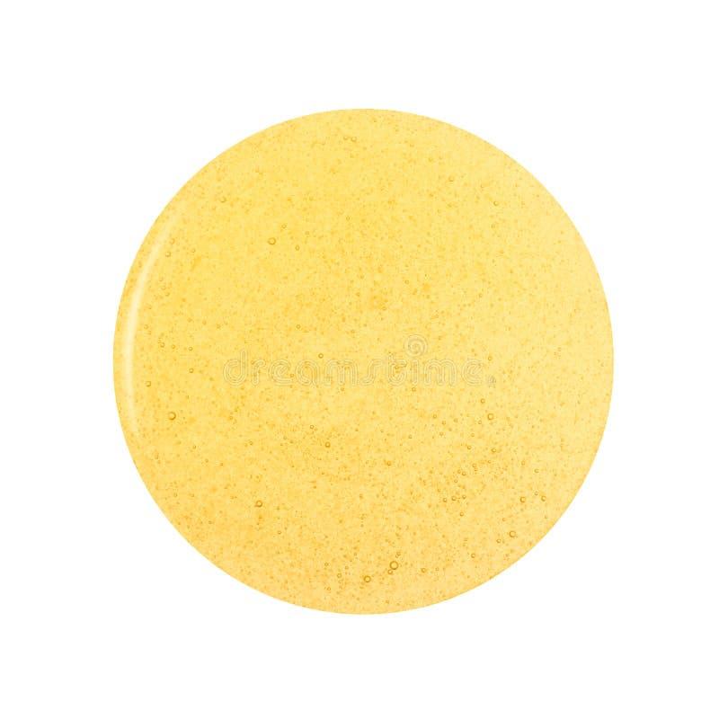 Flaque ronde de miel photos stock