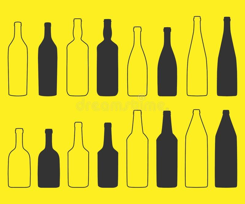 Flasche lizenzfreie abbildung