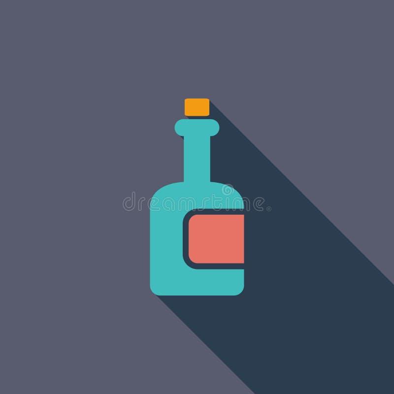 Download Flasche vektor abbildung. Illustration von alcohol, publikation - 90231323