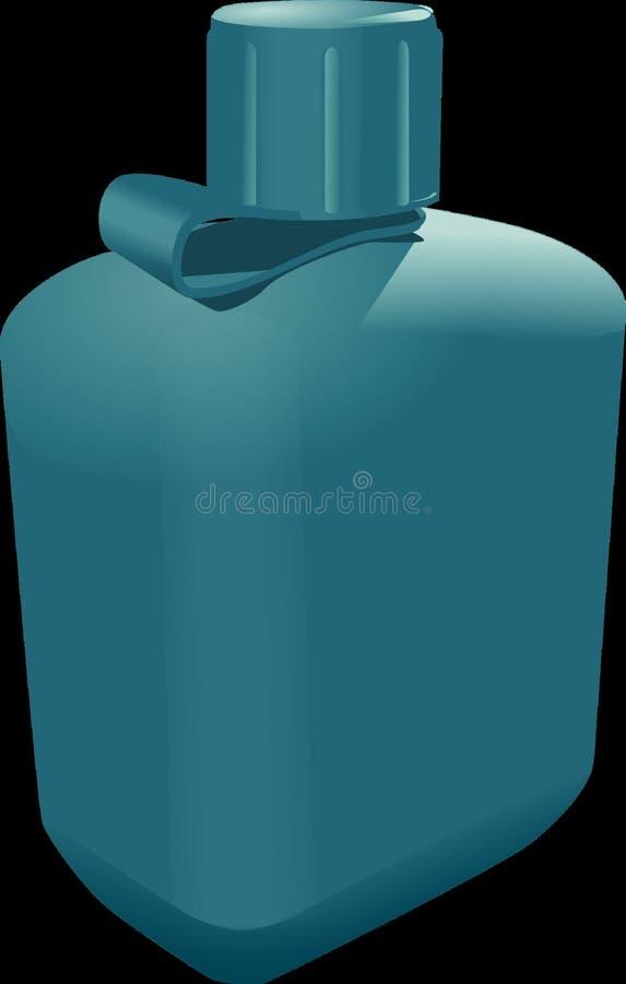 Flasche, Aqua, Azurblau, Produkt lizenzfreie stockfotografie
