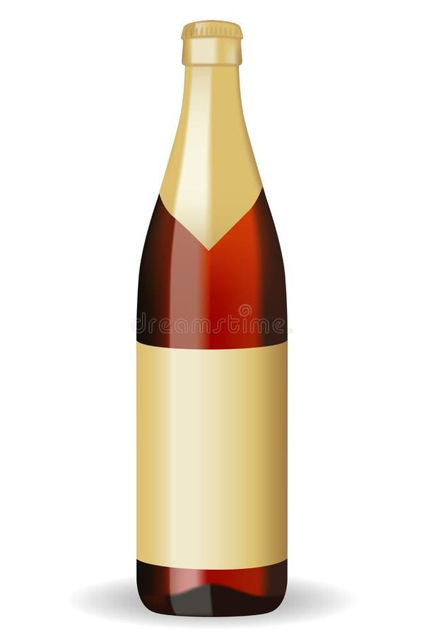 Flasche Bier stock abbildung