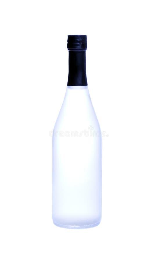 Download Flasche des Getränks stockbild. Bild von russisch, einfachheit - 12200371
