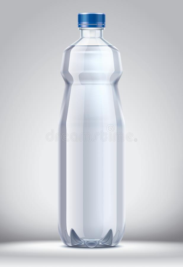 Flasche für Wasser stockfotos