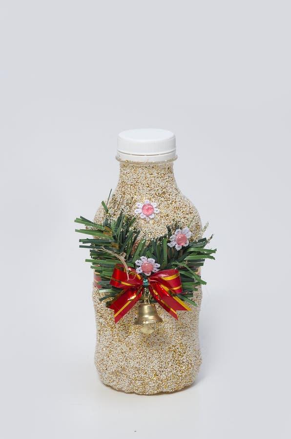 Flasche getrennt auf weißem Hintergrund stockfotos