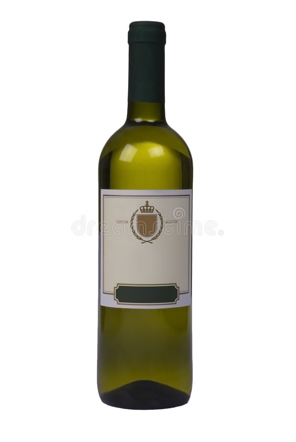 Flasche Qualitätswein lizenzfreies stockbild
