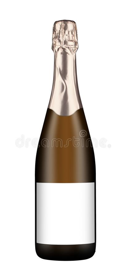Flasche Sekt lizenzfreie stockfotos