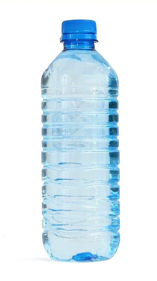Flasche Voll Wasser Stockbild