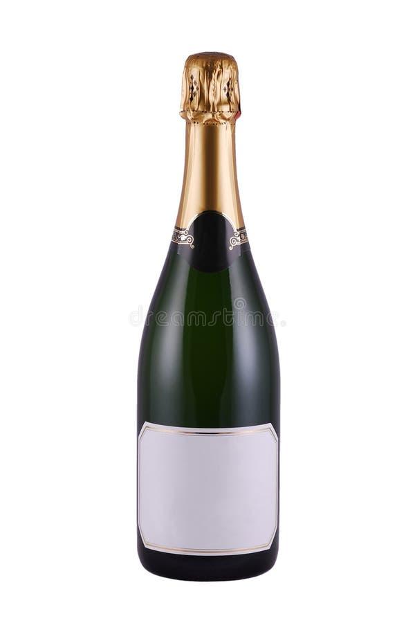Flasche von Champagne lizenzfreies stockfoto