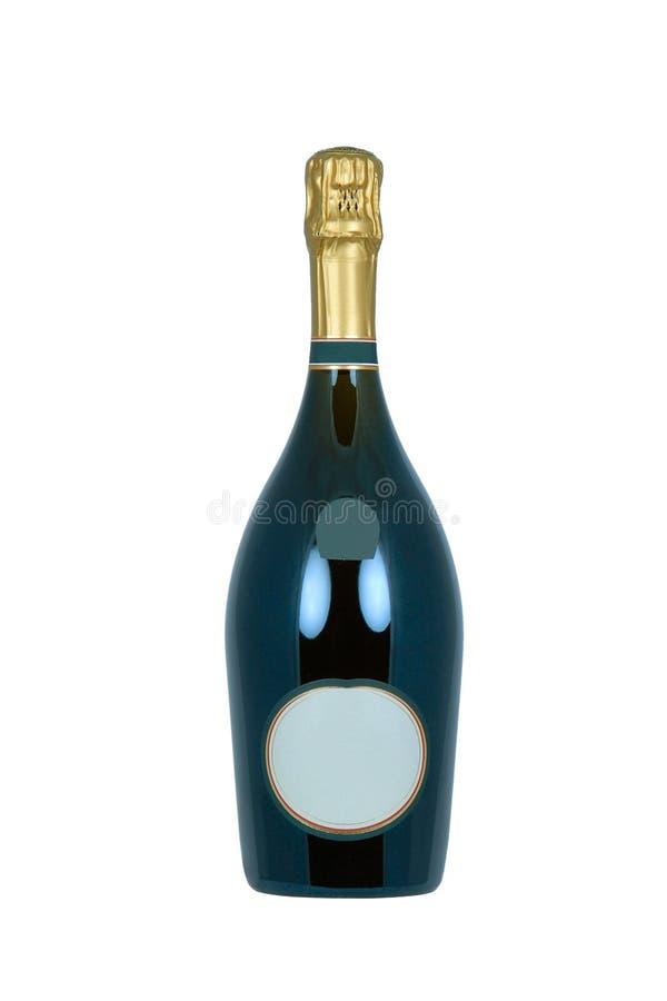 Flasche von Champagne lizenzfreie stockbilder