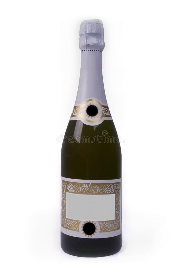 Flasche von Champagne stockfotos