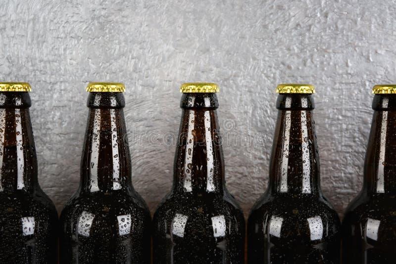 Flaschen Bier lizenzfreie stockfotos